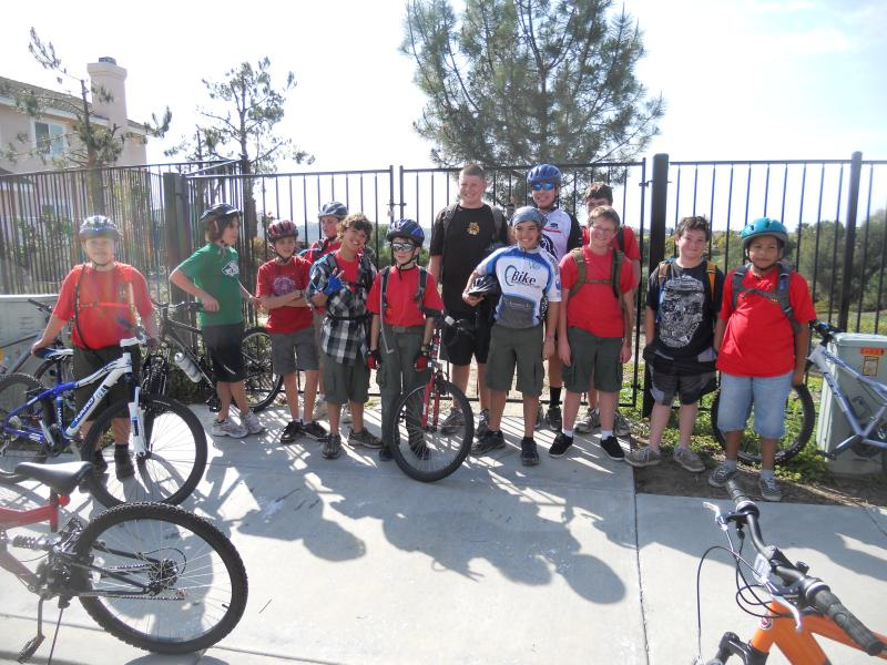 Cycling Merit Badge Training Rides